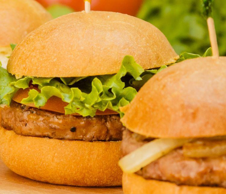 burger tempe, enaknya dijamin!