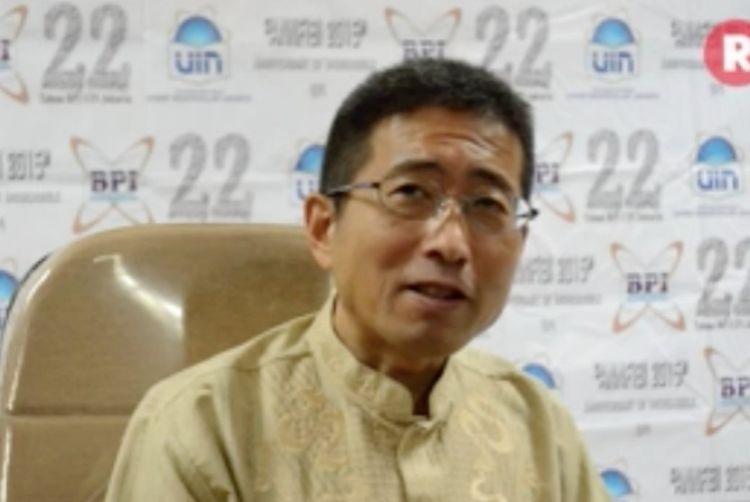 Prof Hisanori Kato pernah lama tinggal di Indonesia.