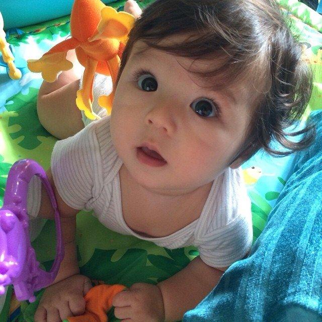 Lucunya, baby El.