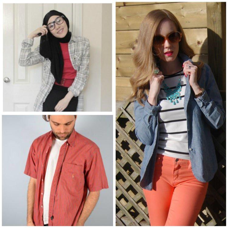 trendi dan casual dengan blouse