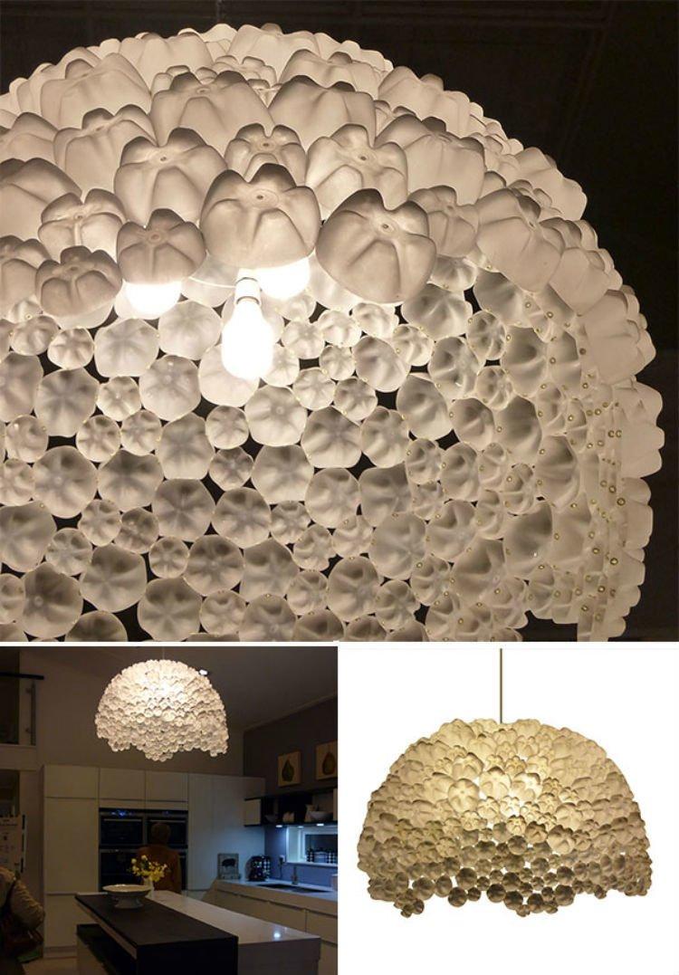 Lampu-lampu cantik dengan bahan botol bekas