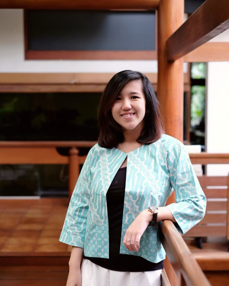 blazer batik oke juga @hobibatik