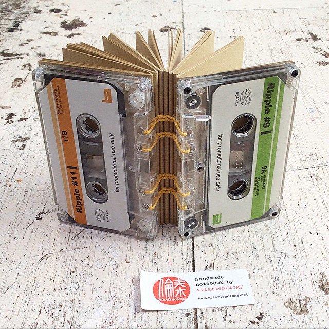 kaset bekas pun bisa lho!