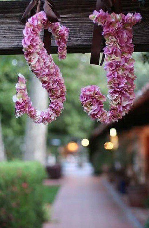 Dari bunga gantung di pepohonan