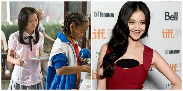 Vivian a.k.a Han Wenwen beberapa tahun lalu dan sekarang.