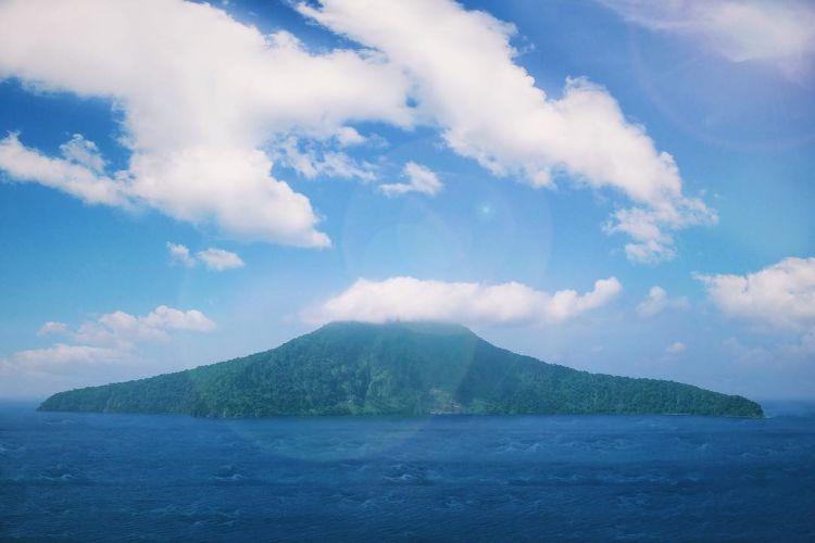Krakatau yang indah.