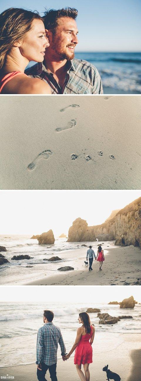 Menyusuri pantai