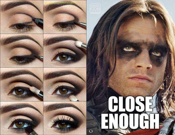 17 Meme Kocak Tentang Makeup Dari Alis Hingga Lipstik Belepotan