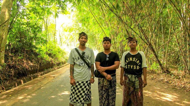 Ini hutan bambu di Penglipuran.