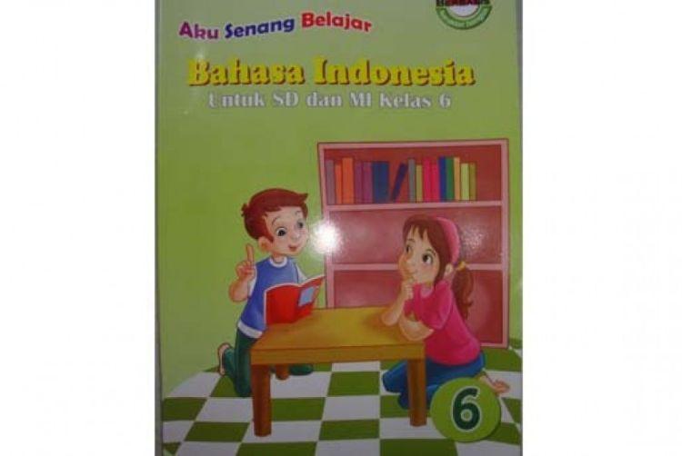 Penampakan buku bahasa Indonesia yang berkonten porno.
