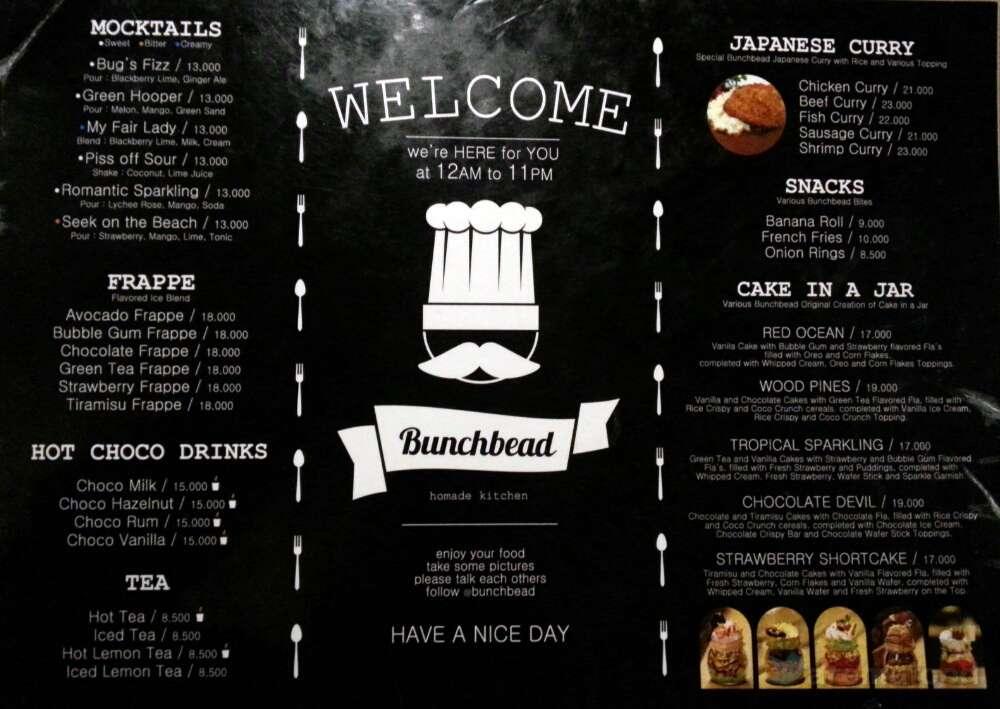 Scrolling menu