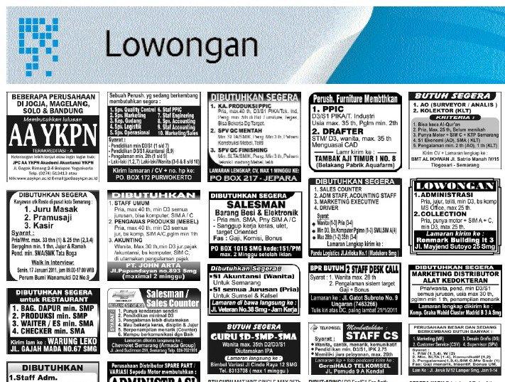 loker di laman koran~