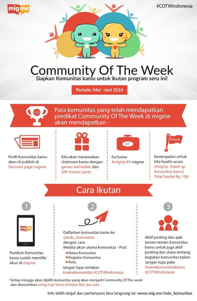 biar semakin luas jaringan komunitasmu