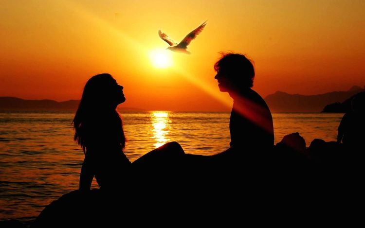 girl-and-boy-sunset-awesome