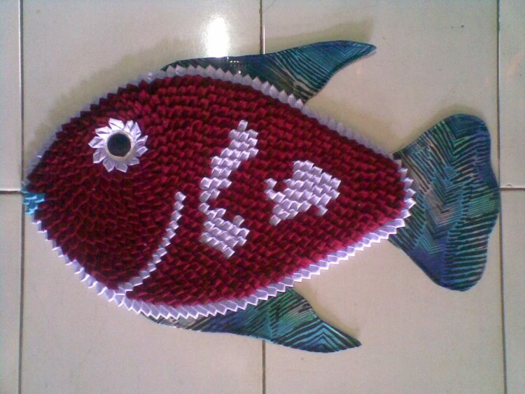 keset bentuk ikan, keren tak terbantahkan