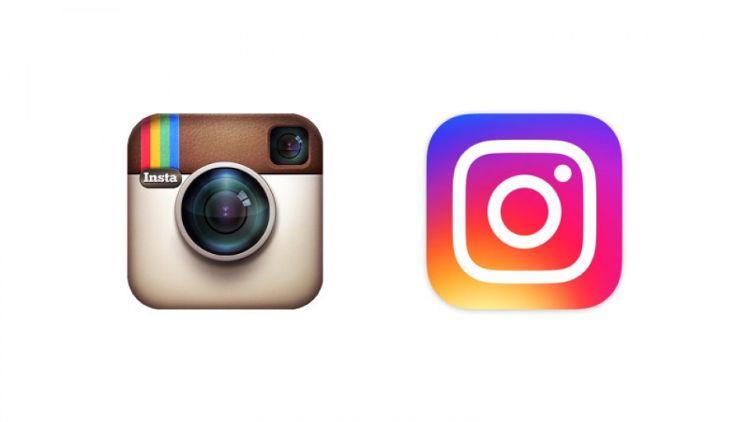 Logo lama (kiri) dan logo baru (kanan).