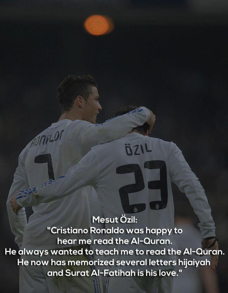 Ozil soal membaca Quran