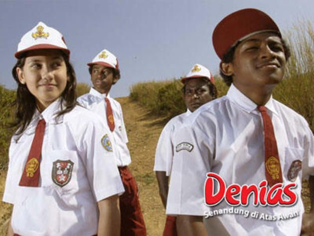 Pevita dalam film Denias, Senandung Di Atas Awan (2006).