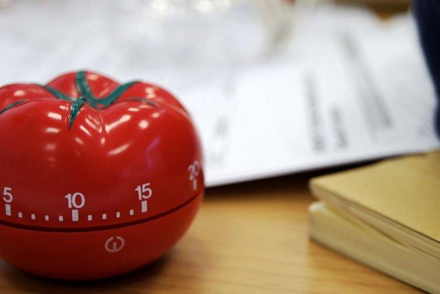 Alarm khas Teknik Pomodoro