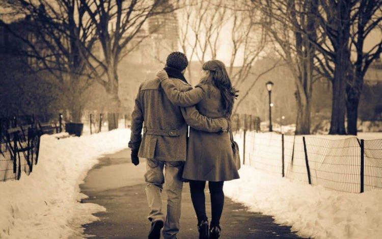 Romantisme tertinggi kami adalah dengan tinggal