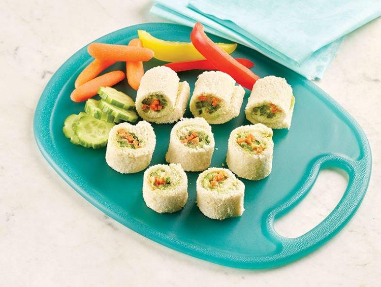 Sushi roti tawar