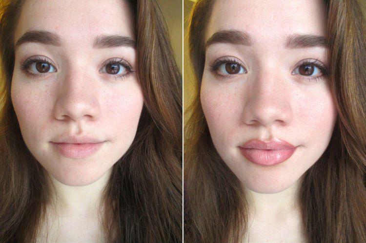 ini nih bedanya sama bibir tipis