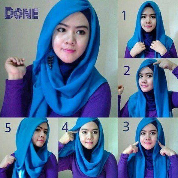 12 Bentuk Kreasi Hijab Segiempat Yang Unik Nan Lucu Bisa Banget Kamu Tiru