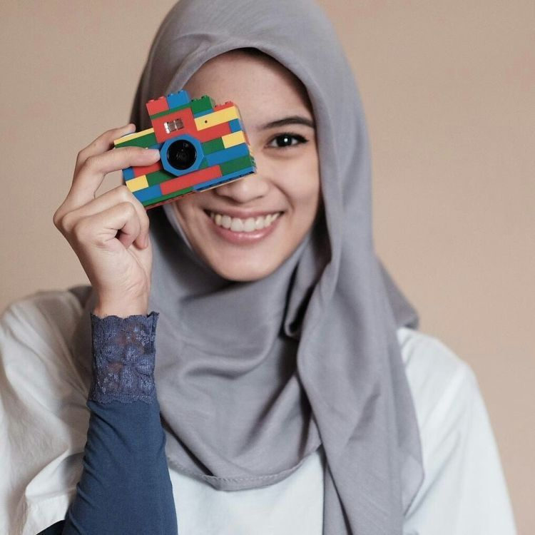 hijab polos alyssa