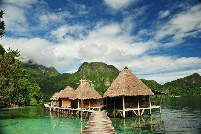 ini nih Ora Beach Resort yang mempesona