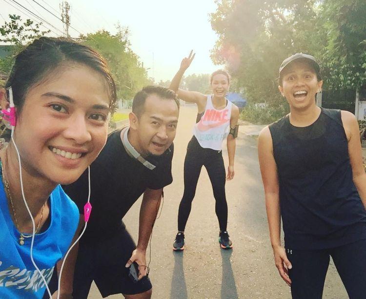 Yuk, rutin jogging biar cantik kaya Dian Sastro... :p