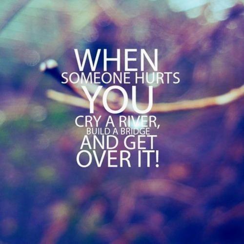 Saat itu, kamu hanya bisa menangis...