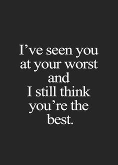 Kamu tetap yang terbaik