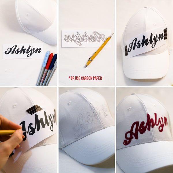 Topi dengan handletering kamu sendiri
