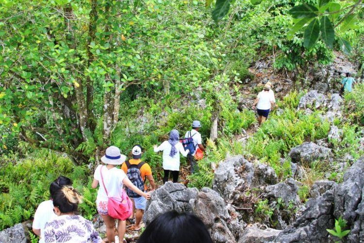 kamu bisa makin sehat dan kuat dengan trekking