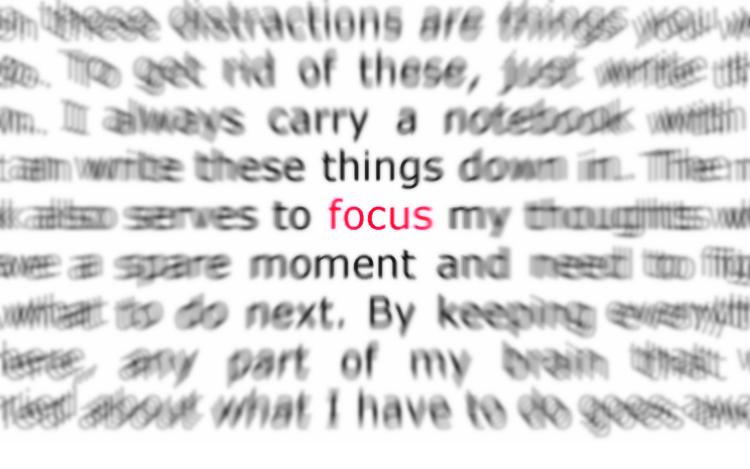 melatih fokus mata