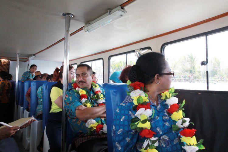 Ini mah menteri pariwisata saat ikut tour wisata tahun lalu