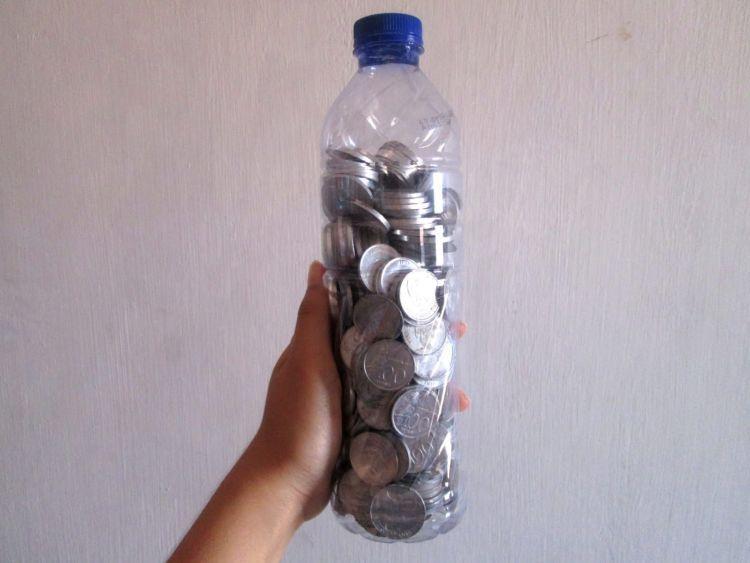 uang receh untuk keadaan darurat