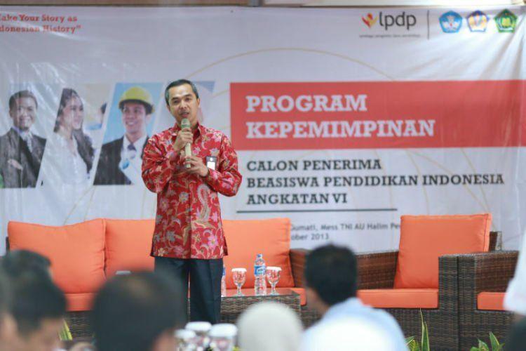 Visi LPDP adalah mencari pemimpin masa depan