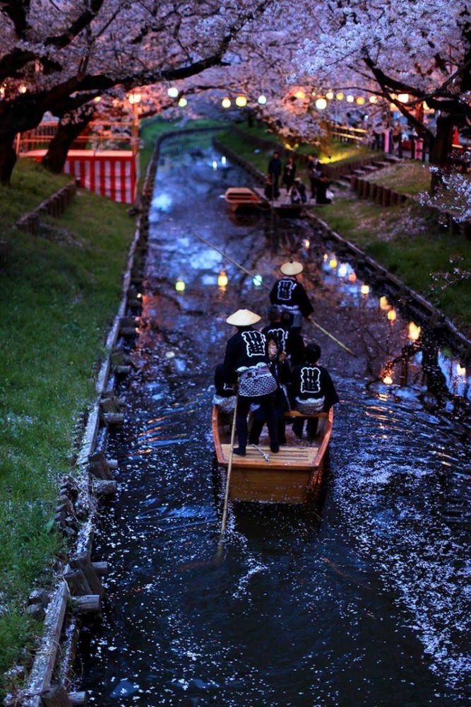 25 Potret Keindahan Negeri Sakura Jepang yang Bikin Nggak