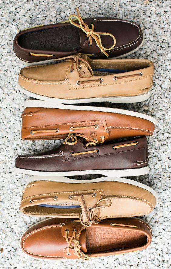 berbagai macam warna boat shoes