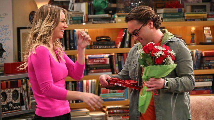 Contoh Leonard sama Penny nya The Big Bang Theory, nih