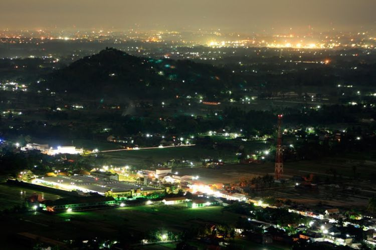 Beginilah pemandangan malam di Bukit Bintang
