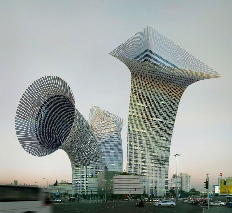 Lucu banget kan gedungnya?