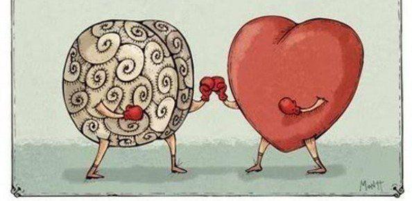 Hati vs logika!