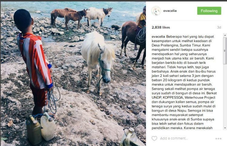 Instagram Eva Celia