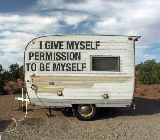 Jadi diri sendiri!