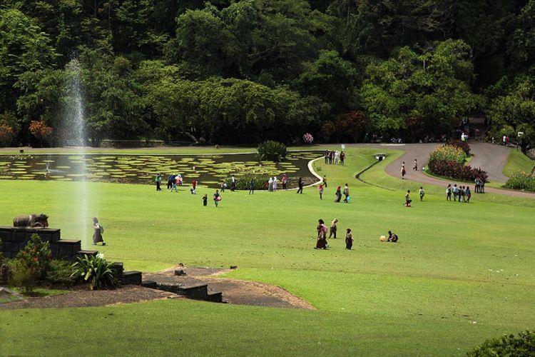 Kebun Raya nggak jauh dari Stasiun Bogor