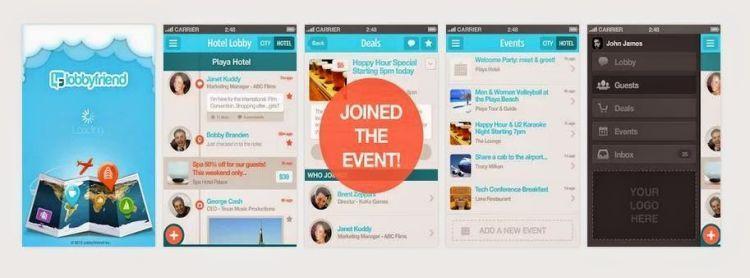 Ya, this is LobbyFriend apps