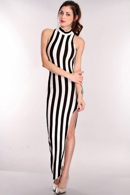 vertical stripes!