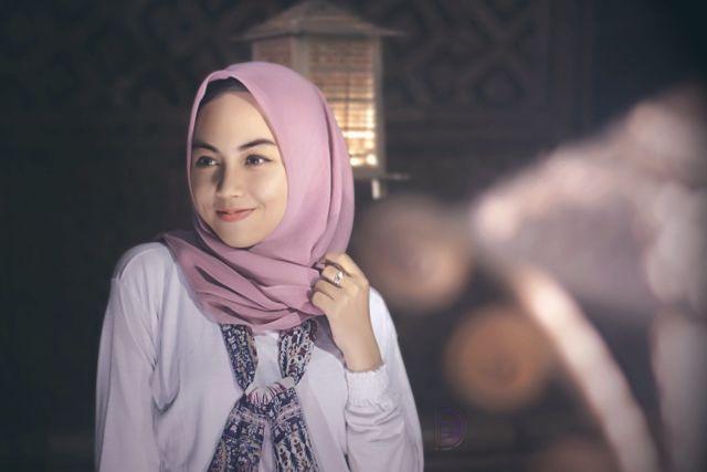 Hijab membuat wanita lebih cantik